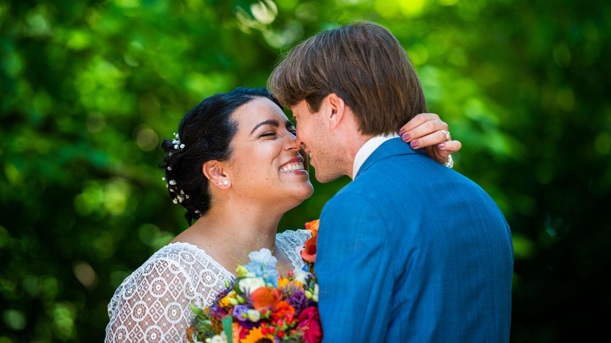 Bruidsfoto Kasteel Duurstede