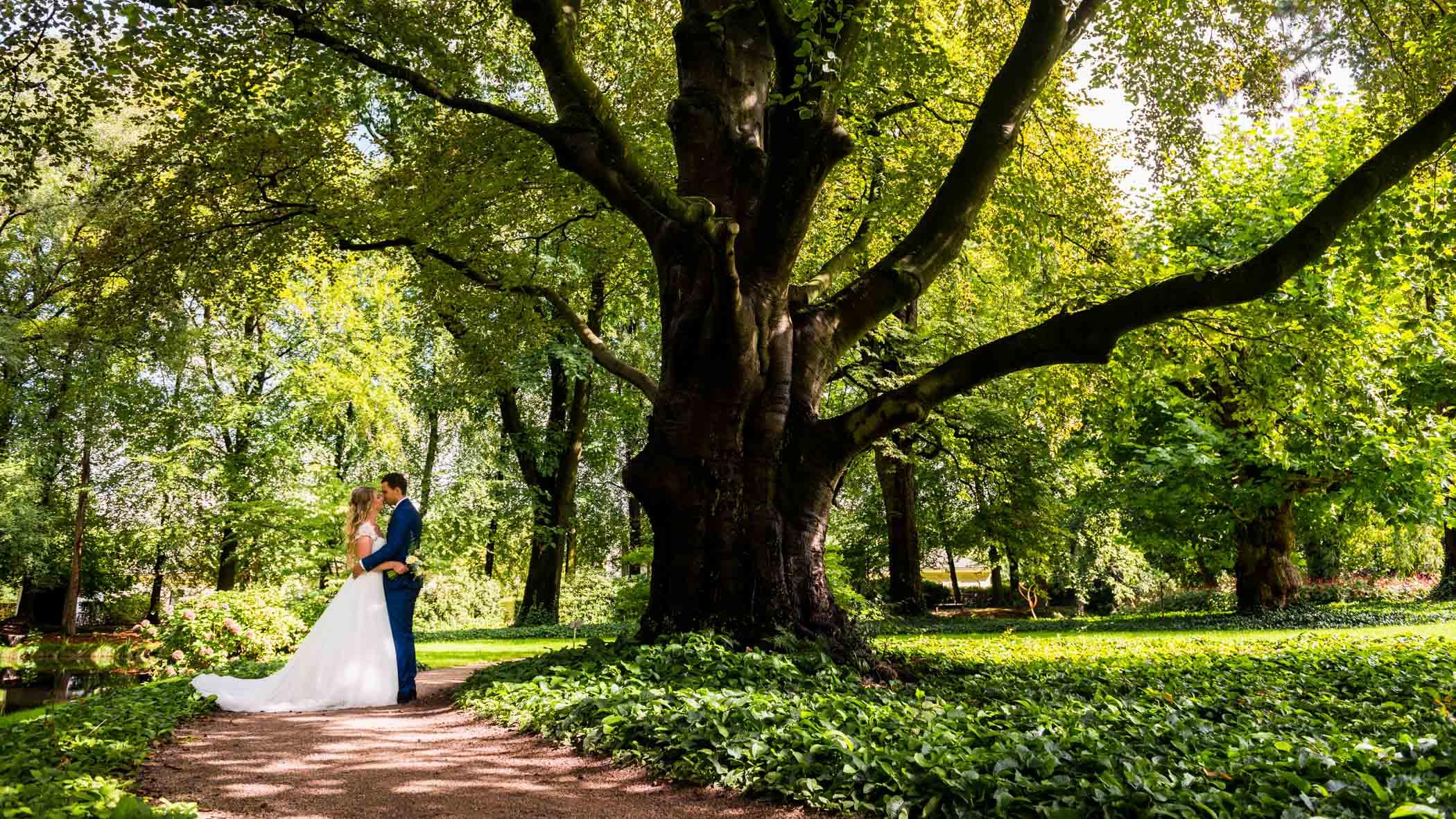 Kasteel de Vanenburg trouwfoto's