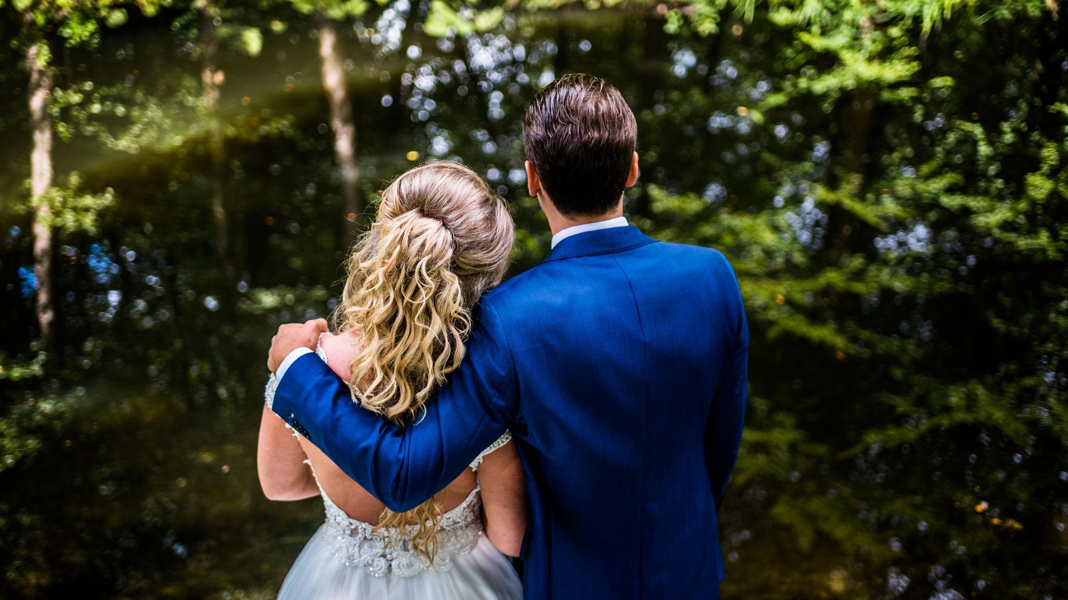 Kasteel de Vanenburg bruiloft