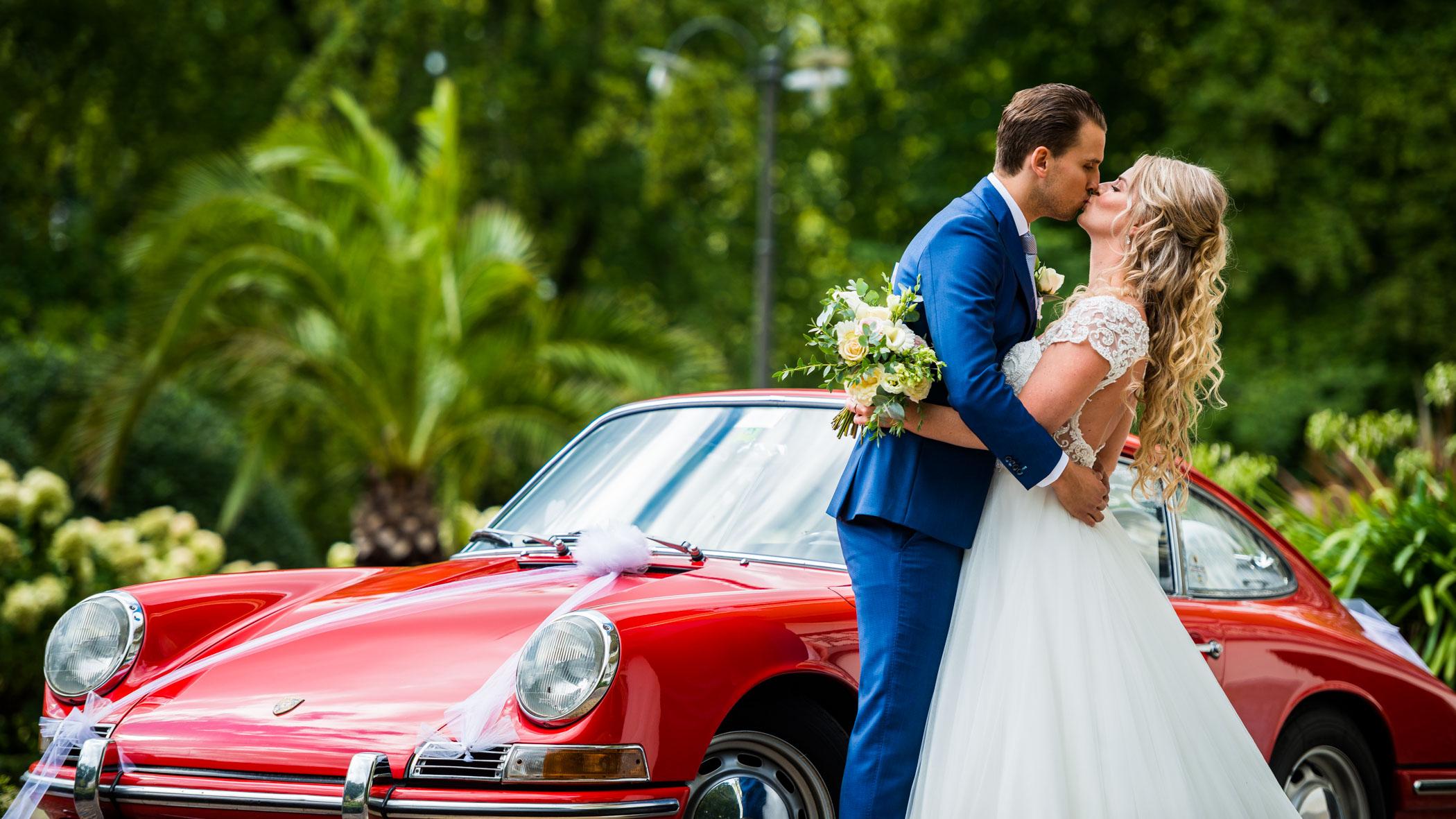 Porsche 912 wedding