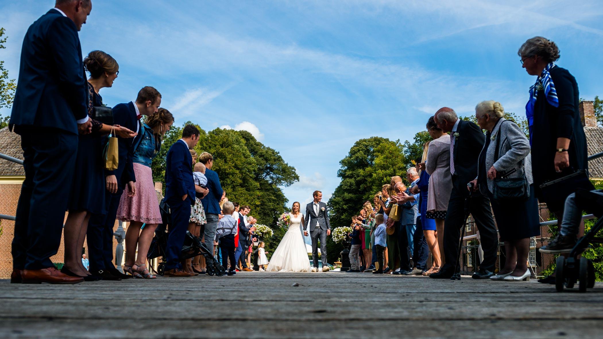 haag bruiloft