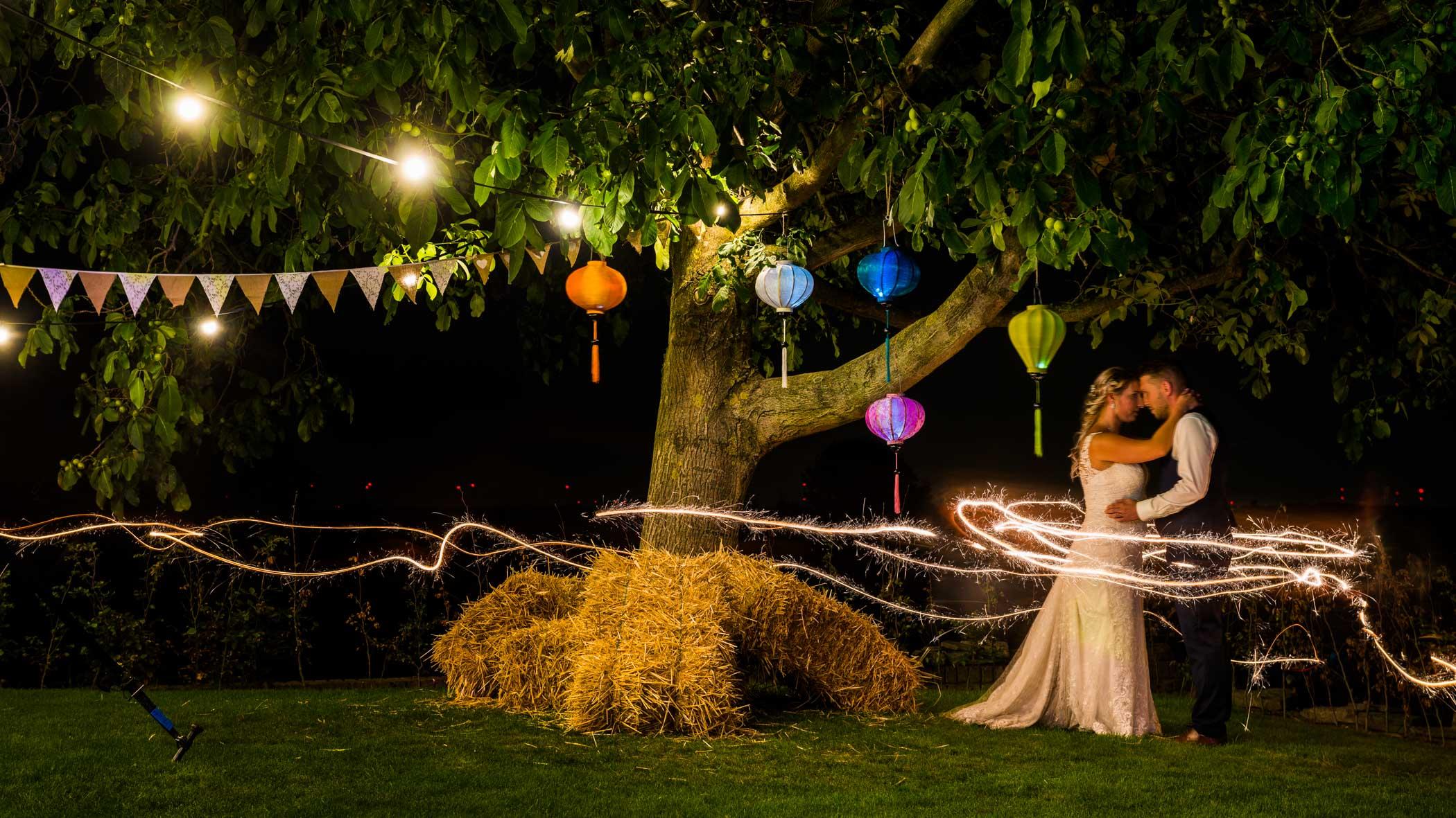 bruiloft sterretjes