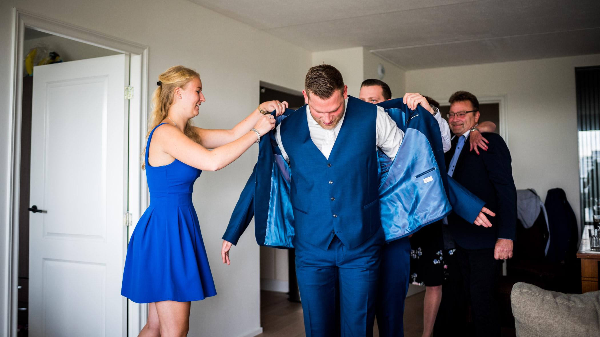 klaarmaken bruiloft