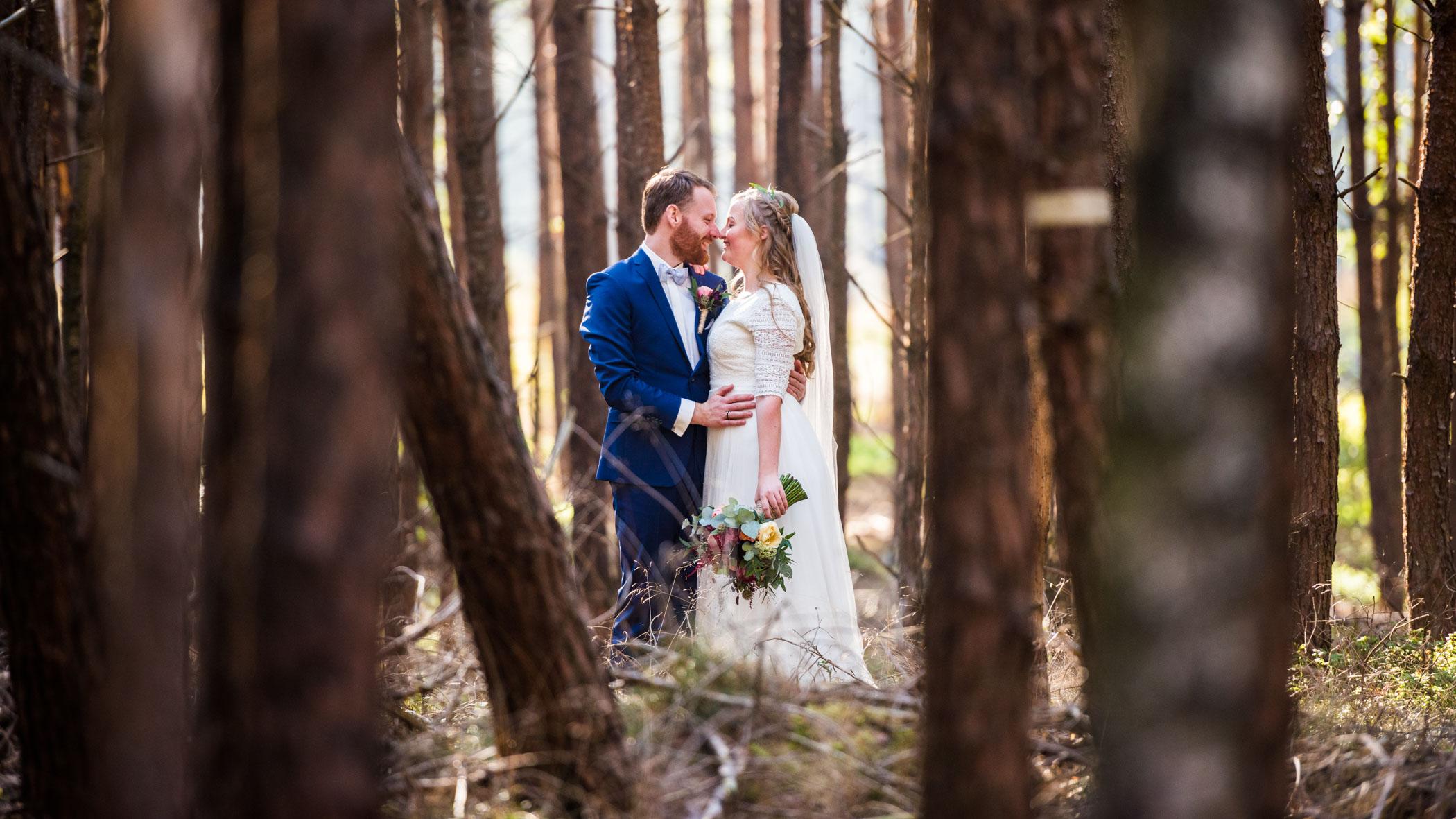 Bruidsfotograaf Den Treek