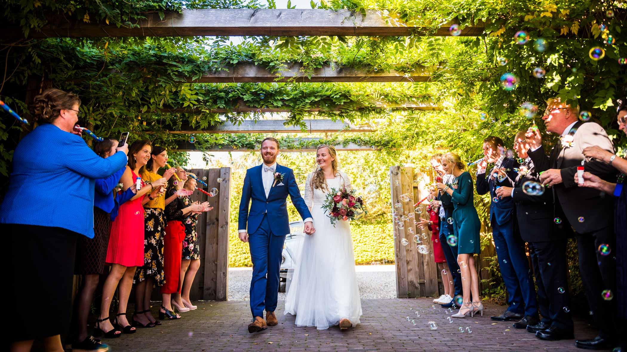 Bruiloft De Mof