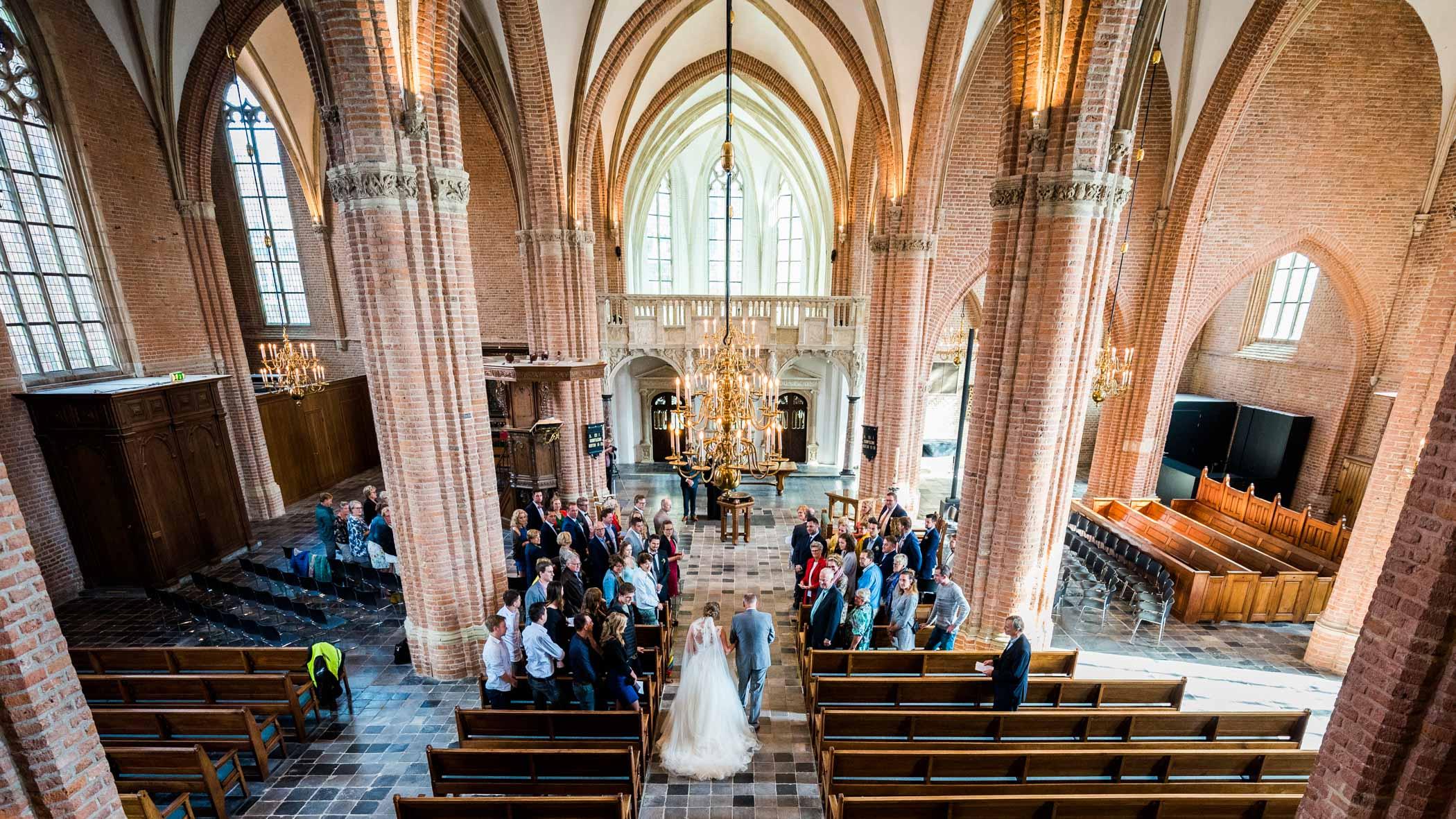 Bruiloft Cunerakerk Rhenen