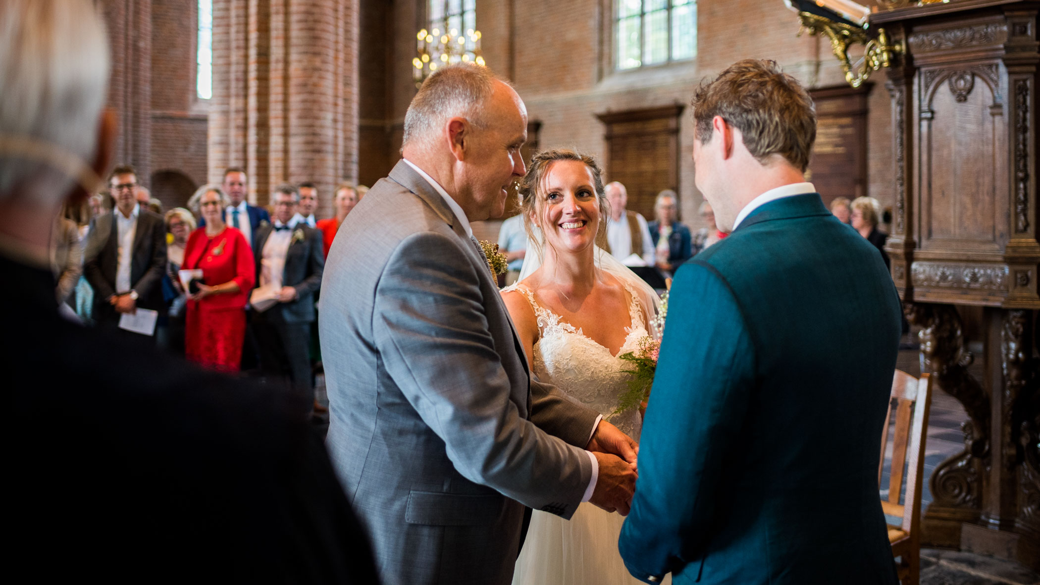 Bruidsfotograaf Cunerakerk Rhenen