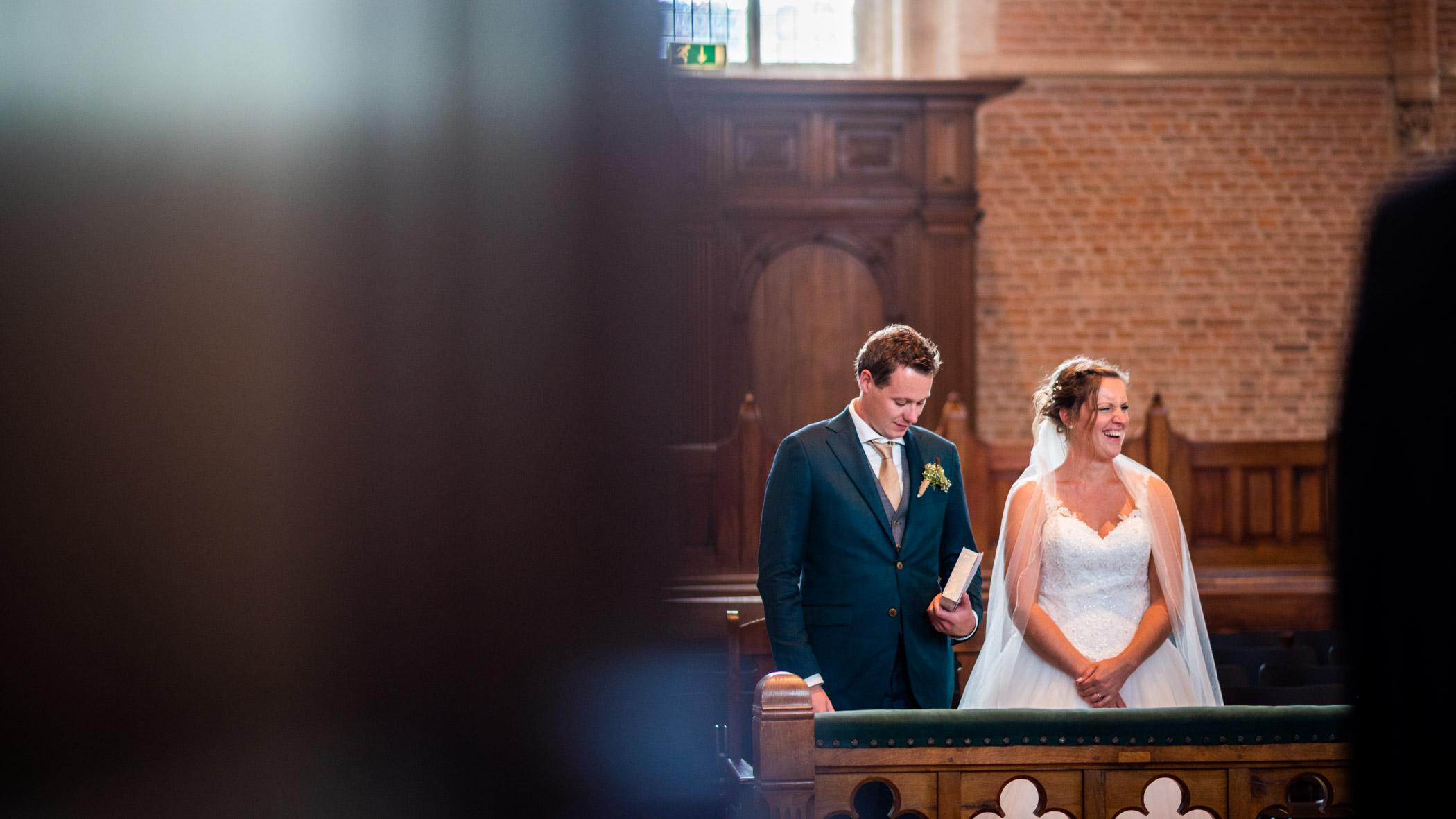 Bruiloft kerkdienst Cunerakerk Rhenen
