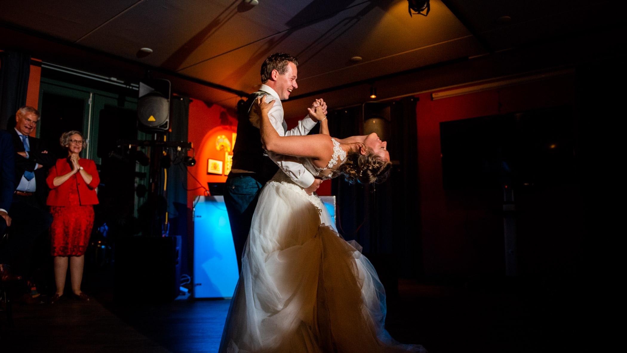Openingsdans Bruiloft Moeke Rhenen