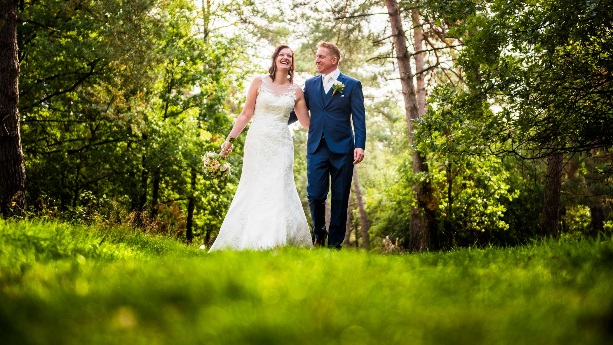 Bruidsfotografie Den Treek