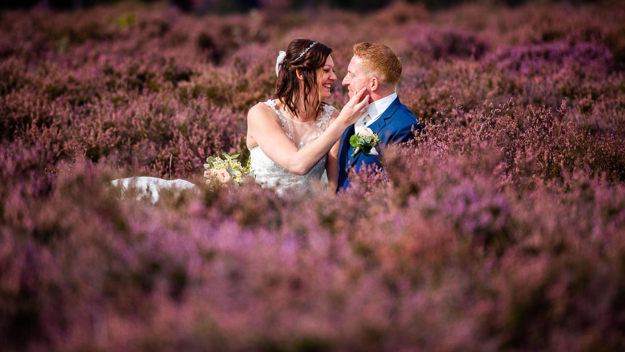 Bruidsfotografie Den Treek Heide