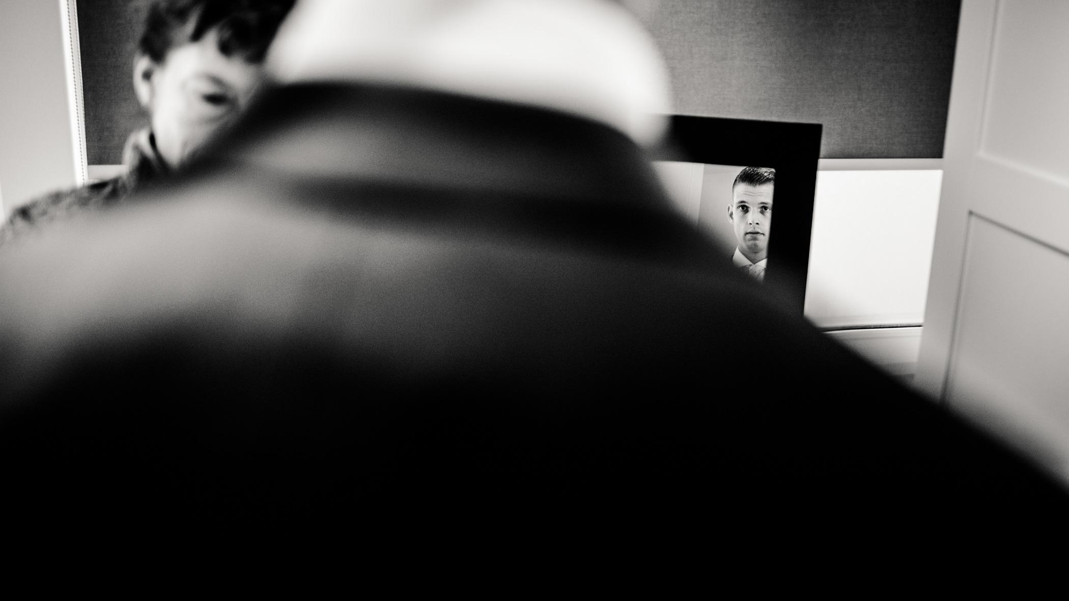 Spiegel bruidegom