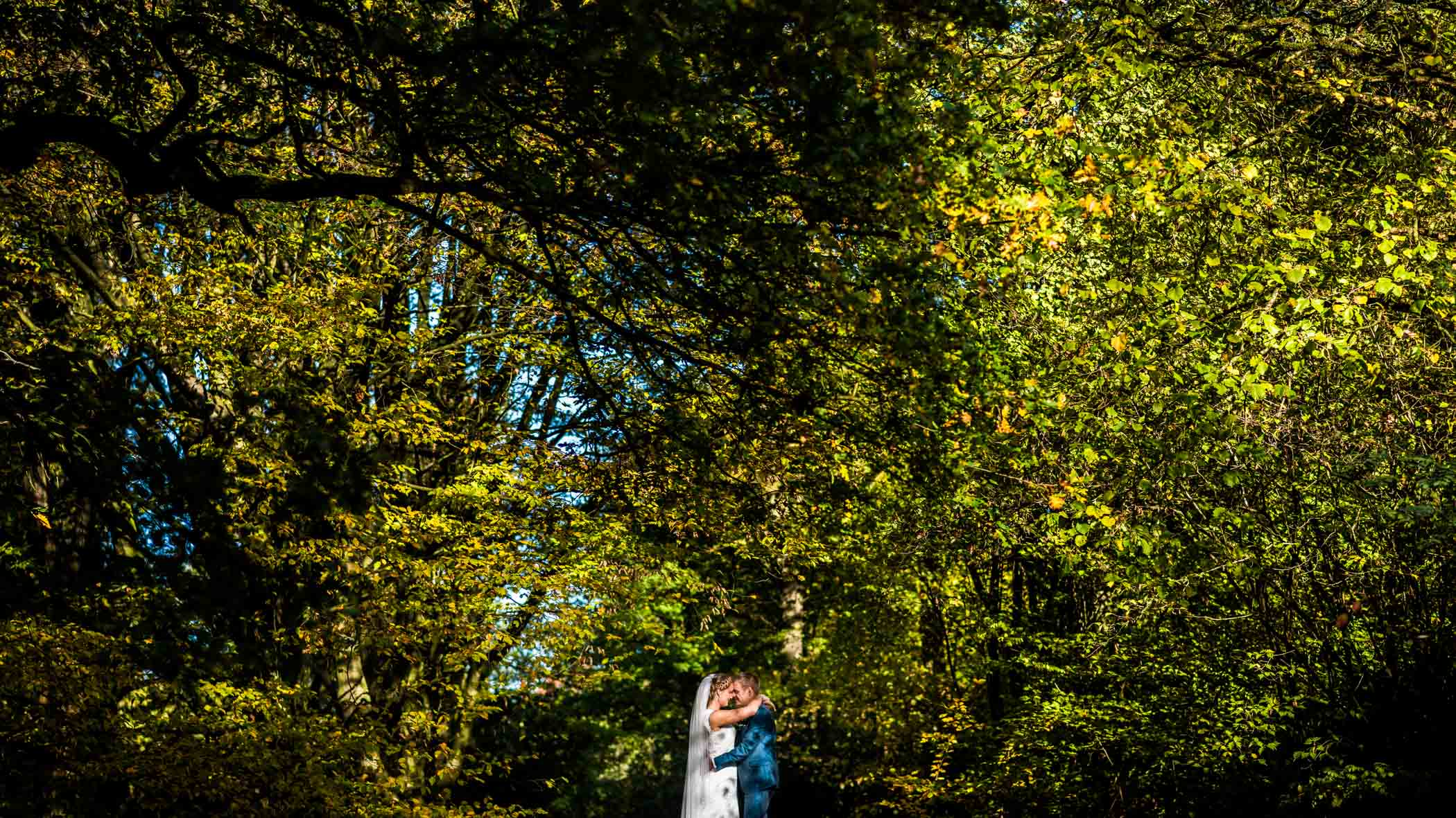 bruidsfotograaf Arboretum Poort Bulten